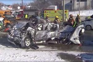 Canada: Đâm liên hoàn trên cao tốc, 60 người nhập viện