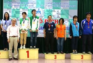 Gần 300 kỳ thủ tham dự Giải vô địch Cờ vua đồng đội toàn quốc