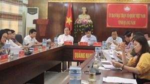 Mặt trận tỉnh Quảng Nam đẩy mạnh tuyên truyền phòng, chống dịch Covid-19