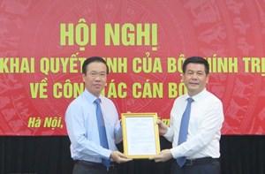 Ông Nguyễn Hồng Diên chính thức nhận nhiệm vụ Phó ban Tuyên giáo Trung ương