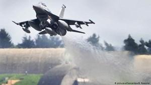Máy bay chiến đấu F-16 của Không quân Mỹ bị rơi tại Đức