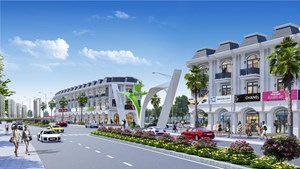 Ra mắt hàng trăm nền đất shophouse dự án Mỹ Hưng Skyline