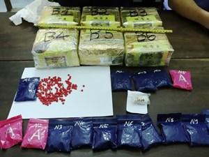 Bắt giữ 9X vận chuyển 6 kg ma túy đá và hơn 3.000 viên ma túy tổng hợp