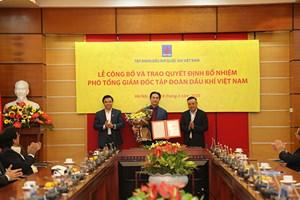 Chủ tịch HĐQT PV Drilling được bổ nhiệm chức vụ Phó Tổng giám đốc Tập đoàn Dầu khí Việt Nam