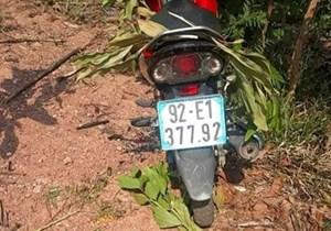 Quảng Nam: Phát hiện nam thanh niên tử vong cạnh xe máy trong rừng