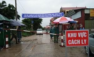 9 chốt kiểm soát giúp dân Hạ Lôi yên tâm chống dịch