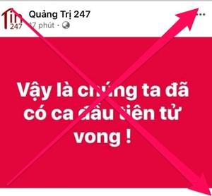 Bộ Y tế: Việt Nam chưa có bệnh nhân tử vong vì Covid-19