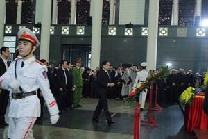 Trang trọng Lễ tang 3 liệt sỹ hy sinh ở Đồng Tâm