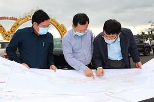Quảng Ninh: Lãnh đạo tỉnh kiểm tra một số dự án giao thông tại Vân Đồn