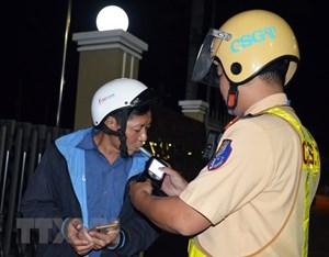 Thành phố Hồ Chí Minh: Xử lý hơn 200 trường hợp vi phạm về nồng độ cồn