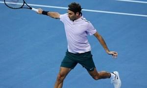 Federer thắng trận đánh đơn thứ hai ở Hopman Cup