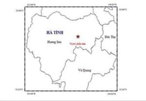 Hà Tĩnh: Động đất 2,7 độ Richter, nhà dân rung chấn