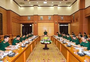 Triển khai công tác xây dựng văn kiện, chuẩn bị nhân sự Đại hội Đảng bộ Quân đội