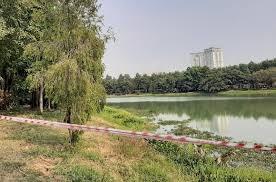 Bình Dương: 2 người mất tích tại hồ nước trong công viên