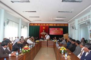 Gặp mặt 40 vị chức sắc, chức việc tiêu biểu tỉnh Gia Lai nhân dịp Tết Nguyên đán Mậu Tuất 2018