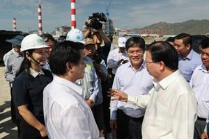 Gấp rút hoàn thiện Nhà máy Nhiệt điện Vĩnh Tân 1