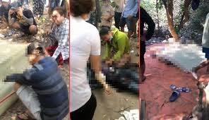 Thêm hình ảnh về nghi can xả súng giết người tại huyện Củ Chi