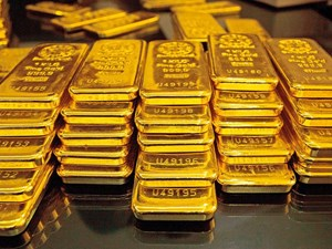 Giá vàng biến động nhẹ