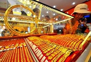 Giá vàng tiếp đà tăng