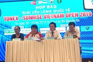 Gần 300 tay vợt tham gia Giải cầu lông quốc tế Yonex Sunrise Việt Nam Open 2