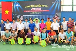 Giải Quần vợt các CLB tỉnh Khánh Hòa mở rộng cúp Mê Trang lần VIII năm 2017
