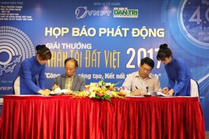 Giải thưởng Nhân tài Đất Việt: Khởi nghiệp sáng tạo hướng tới cuộc cách mạng công nghiệp 4.0