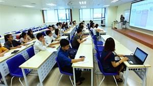 Mỗi giảng viên có diện tích làm việc 10m2