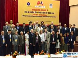 Giao lưu văn hóa Việt - Pháp, thành tựu và triển vọng