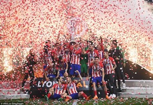 Griezmann tỏa sáng, đưa Atletico Madrid lên ngôi Europa League