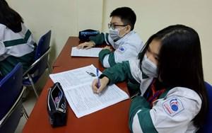 Ráo riết chống dịch trong trường học