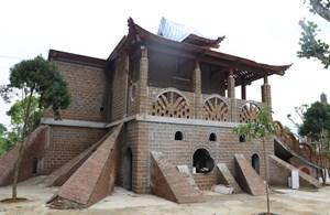 Hà Nội: Cung điện thờ thiên 'mọc' trên đất nông nghiệp không phép