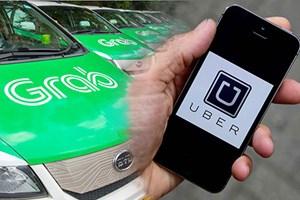 Hà Nội: Yêu cầu báo cáo số lượng và danh sách lái xe Uber, Grab