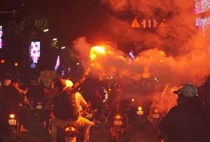 Hà Nội:Tăng cường 15 tổ 141 chống đua xe trái phép sau trận U23 Việt Nam