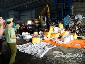 Hà Tĩnh: Tiêu hủy hơn 23 tấn nội tạng đã bốc mùi thối