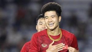 Hà Đức Chinh lập công giúp U23 Việt Nam giành chiến thắng