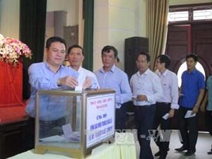 Hải Dương: Phát động quyên góp ủng hộ đồng bào miền Trung