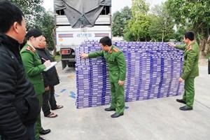 Vận chuyển 1 vạn bao thuốc lá lậu với giá 3 triệu đồng