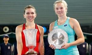 Halep vô địch Thâm Quyến Mở rộng, Svitolina chiến thắng ở Brisbane