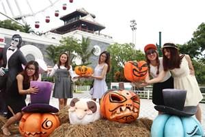 Halloween ngập tràn cảm xúc với 'Vương quốc bí ngô' Sun World Danang Wonders