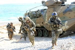 Hàn Quốc tập trận 'bảo vệ biển đảo'