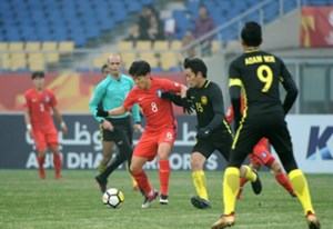 Hàn Quốc vào bán kết nhờ bàn thắng muộn trước Malaysia