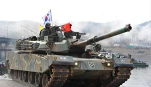Hàn Quốc xuất khẩu 3,19 tỷ USD vũ khí trong năm 2017
