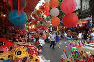 Phân luồng giao thông phục vụ Lễ hội Trung thu phố cổ