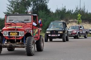 Hấp dẫn giải đua ô tô địa hình Việt Nam tại Quảng Bình