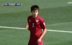 Hậu vệ Anh Tài tỏa sáng ở giải Hàn Quốc, giúp Uijeongbu thắng play-off