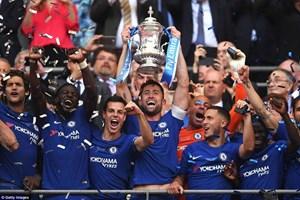Hazard 'hạ' Manchester United, Chelsea lần thứ 8 đăng quang FA Cup