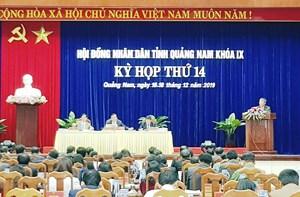 Khai mạc Kỳ họp HĐND tỉnh Quảng Nam