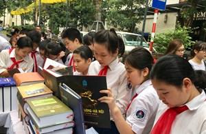 Hội Sách Hà Nội 'Thành phố Vì hòa bình'