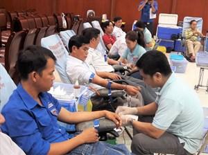 Kêu gọi tham gia hiến máu nhân đạo