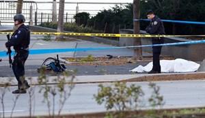 [VIDEO] Hiện trường vụ tấn công bằng xe tải đẫm máu ở New York